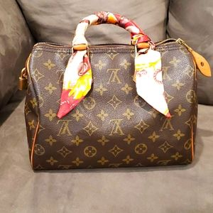 Authentic and Vintage Speedy 25